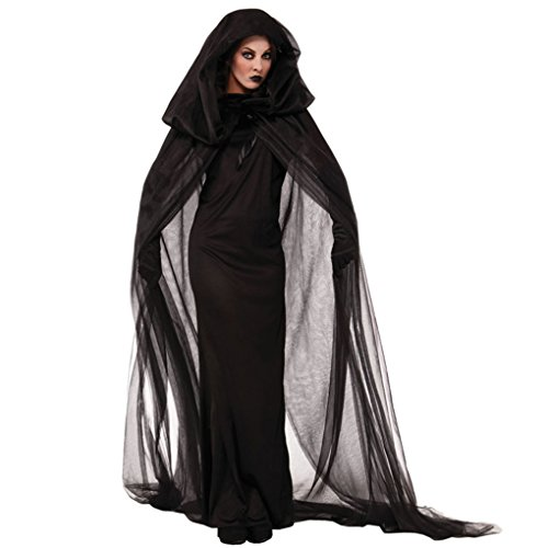 Ranboo Frauen Fancy Dress Halloween Kostüme Kostüme mit Gaze Mantel Handschuhe