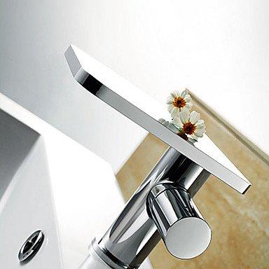 Badezimmer Küche 125 MM Zeitgenössische Chrome Messing Waschbecken Wasserhahn