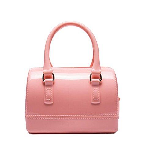 Handtaschen Kissen Tasche Tasche Süßigkeiten Tasche Handtasche Einfache Atmosphäre Elegant Pink