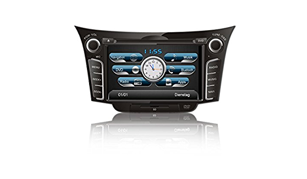 Easinav Drive Dab Navigation System For Hyundai I30 Pad For Software Elektronik