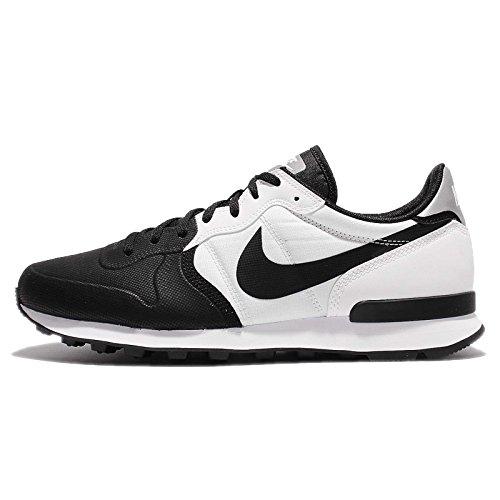 Nike Internationalist Prm Se, Sneakers Basses Homme Schwarz (Black/Black/White)