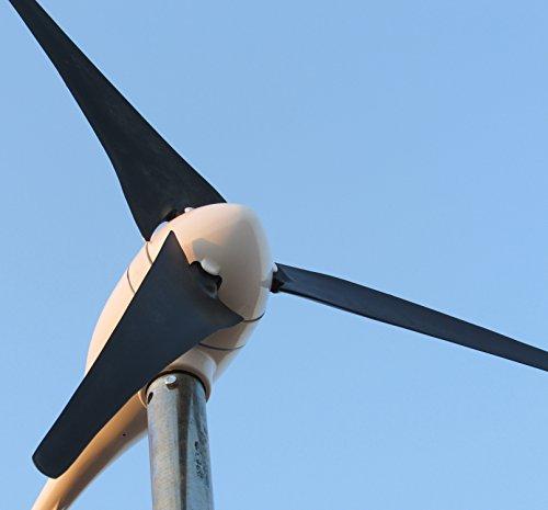 Marina 12V 300W Wind turbine + 650W controlador de carga híbrido (precio: 390,56€)