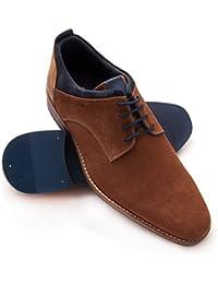 Zerimar Herren lederschuh Eleganter Herrenschuhe Komfortabler Schuh für den  Mann hochwertige Leder Schuhe elegant Mit… 54617edb43