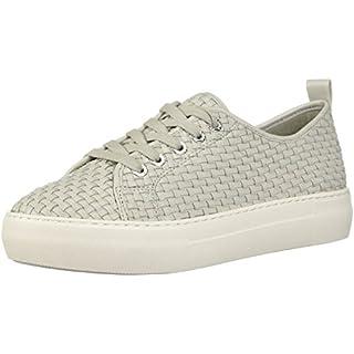 J Slides Women's Artsy Sneaker, Pale Grey, 7.5 B(M) US