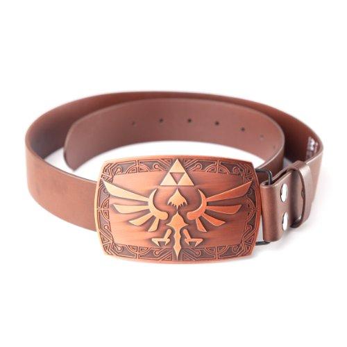 NINTENDO - Cinturón para hombre The legend of Zelda, talla 126.5 cm (Manufacturer Size: X-Large) - talla inglesa, color marrón