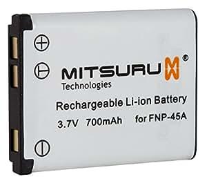 Bateria Mitsuru® per Fuji Fujifilm NP45 NP-45 NP-45A NP-45B Medio NP-45 , e Fuji Fujifilm Finepix J210 J250 JV100 JV105 JV150 JV200 JV205 JV250 JV255 JX200