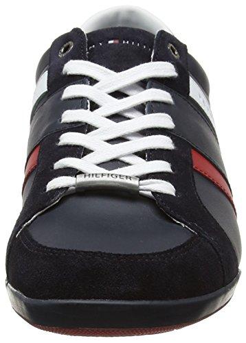 Tommy Hilfiger Herren R2285oyal 3c1 Sneaker Low Hals Blau (Midnight)