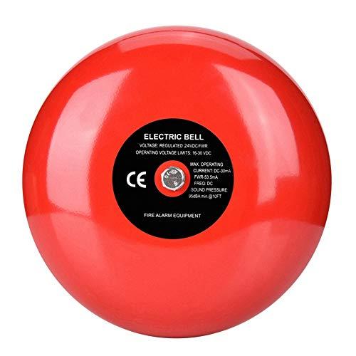 Fire Alarm Horn Strobe (95dB Metall Electronic Runder,Smart Home Außensirene System für die Sicherheit von Schulheimfabriken)