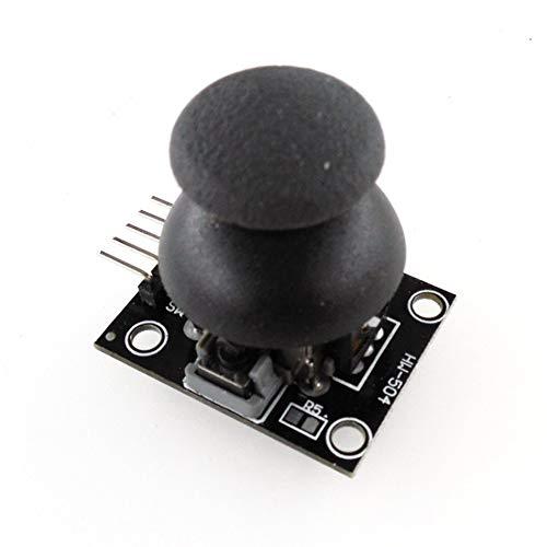 HW-504 JoyStick Breakout Modul Schild für PS2 Joystick Spiel Controller Spiel Rocker Hebel Sensor Modul Für Arduino-Schwarz