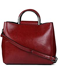 ISweven Women's Stylish Handbag | PU Leather Shoulder Bags For Women | Women's Satchel | Party Wear Handheld Sling... - B07CZKXQGS