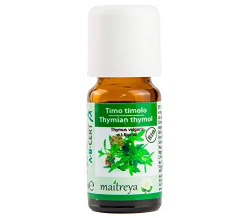 TIMO TIMOLO olio essenziale BIOLOGICO (bio) 100% puro e naturale 10ml