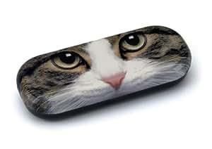 Tabby Cat Glasses Case by Catseye