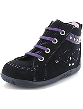 Däumling 150051-S-47 - Zapatos primeros pasos de Piel para niña Azul Turino ozean