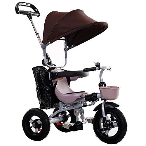 WYX-Stroller Kinderwagen Kinder Kleinkind Dreirad Fahrrad Trike Aufsitzspielzeug Kinderwagen Kinderwagen Baby Autositze Kinderwagen,b (Autositz Für Jogging-kinderwagen)