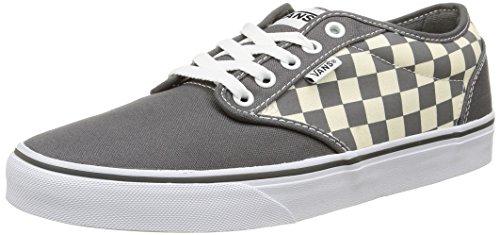 Vans Atwood, Zapatillas Hombre, Multicolor (Checkers/Gray/Natural), 39
