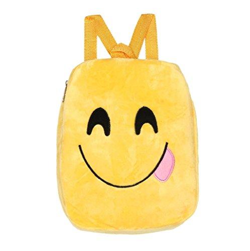 Imagen de  mujer sannysis mujeres bolsos de emoji con cremallera 01