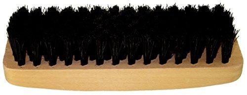 DELARA Robuste Schuhbürste - Farbe: Schwarz