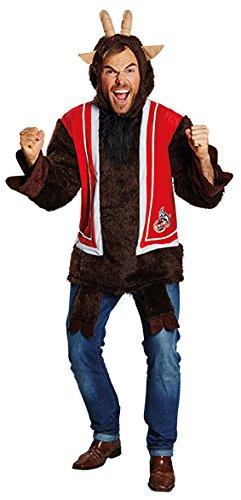 Rubies Fan Kostüm 1.FC Köln Hennes Unisex S (Kostüm Henne)