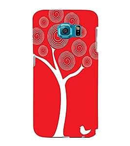 PrintVisa Nature Love Art 3D Hard Polycarbonate Designer Back Case Cover for Samsung Galaxy S6