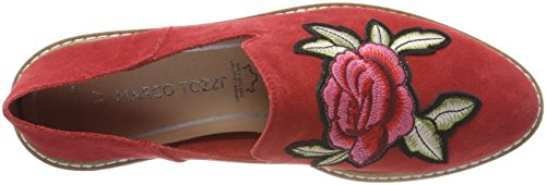 Marco Tozzi Damen 24618 Slipper Rot (Chili)