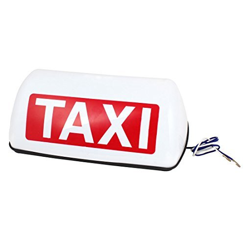 Yellow Light Magnetische Roof Top Taxi Sign lampje DC 12V (Light Taxi Top)