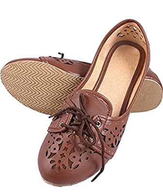Zap Women's Shoe Belly-Brown (S.NO_11)