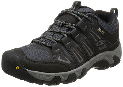 Keen Herren Oakridge WP Trekking-& Wanderhalbschuhe, Braun (Magnet/Gargoyle), 42 EU (Männer Für Schuhe Keen)