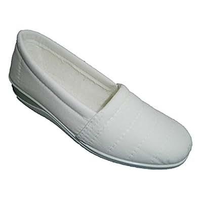 Chaussure fermée très confortable Nevada en blanc taille 36