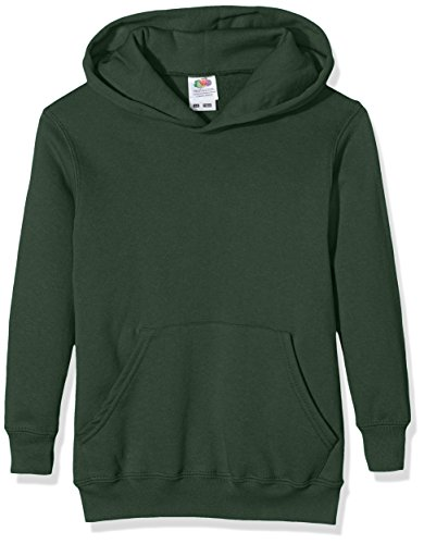 Fruit of the Loom Unisex Kids Pull-over Classic Hooded Sweat