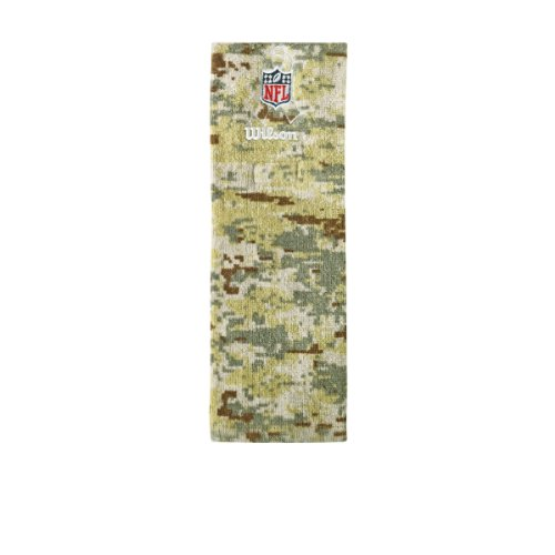 To Salute Service (Wilson Sporting Goods NFL Salute to Service Football Field Towel, Camouflage by Wilson)