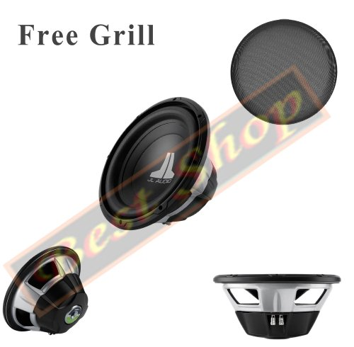 JL AUDIO 10W0V3-425,4cm w0V3-series 4-ohm Auto Subwoofer (Grillrost gratis) -