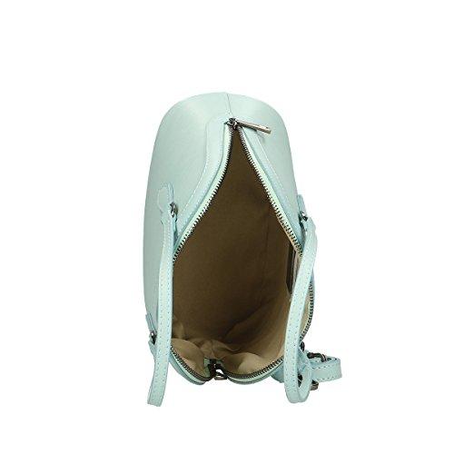 Chicca Borse Borsa a mano in pelle 24 x 18 x 13 100% Genuine Leather Marina