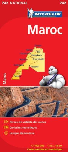 Carte NATIONAL Maroc