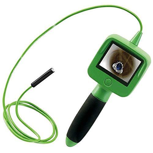 CHENG Boroscopio, endoscopio Portatile Wireless per Uso Domestico endoscopio HD, Adatto per L'osservAzione di Fori di Scarico, Apparecchi Elettrici Dietro La Toilette