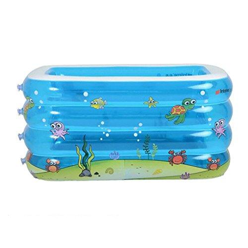 WTL Bathtub Piscine pour bébé Piscine rectangulaire Piscine pour bébés Piscine surdimensionnée Piscine Pool de jeux Gonflable Baignoire Baignoire