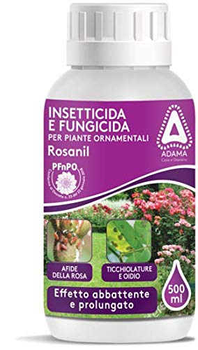 Insetticida fungicida specifico per le rose piante in vaso contro afidi ticchiolatura, ruggine e oidio 500 ml Euroshoppingonline