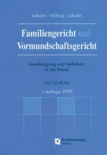Cover »Familiengericht und Vormundschaftsgericht«