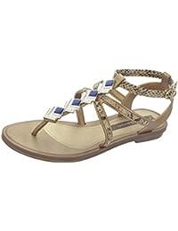 Sandales String Glamour Grendha Pour Femme-or-39 G6HeK