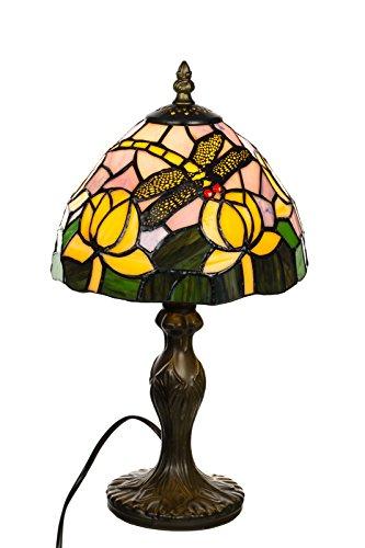 Tischlampe im Tiffany Style, Tiff 141, Tischlampe Motiv Lampe , Dekorationslampe, Tiffany Style, Glaslampe, Leuchte ,Tischlampe, Stehleuchte, Stehlampe, Leuchte Lampe