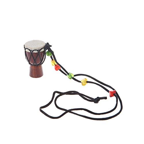 JAGENIE Holz Classic Jambe Drummer Mini Djembe Percussion afrikanische Hand Drum Bongo Geschenk