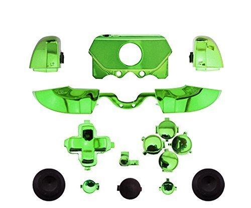 Canamite-LB-RB-LT-RT-Bumper-Auslöser-Knopf-Set-Schutzhülle für Xbox-One-Controller/Joystick mit 3,5-mm-Kopfhörer-Anschluss grün