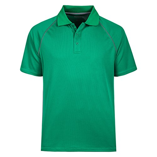 MOHEEN Poloshirt Sommer Herren Party T-Shirt Hemd POLOHEMD (5XL, Grün)