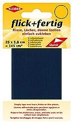 Kleiber 145 cm² Flick + Fertig Selbstklebendes Reparaturband aus Nylon, Marine Blau