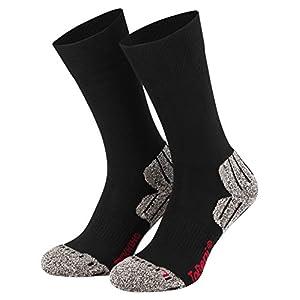 4168aJy0c7L. SS300  - Tobeni 2 Pair Trekking- Hiking- Outdoor Functional Socks for Women and Men