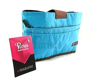 Periea - Organiseur de sac à main, 10 Compartiments - Tolla (Bleu)