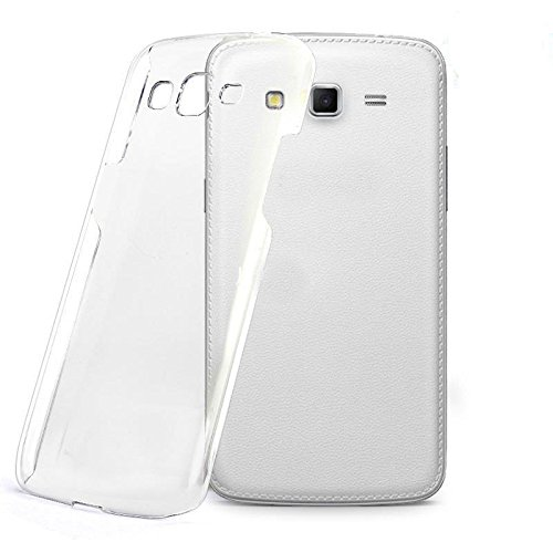 Cubix® Transparent Case for Samsung Galaxy Grand 2 G7106 Hard Crystal Case, Anti Scratch Coating, Anti Yellow Coating Clear Like Glass - Transparent  available at amazon for Rs.199