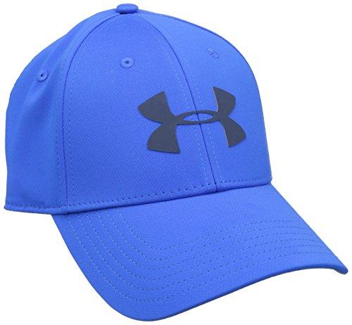Under-Armour-Mens-UA-Golf-Headline-Cap-Gorra-de-Bisbol-Hombre-Azul-Blue-Marker-LXL