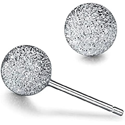 Acxico bola de nieve helada superficie grano forma pendientes del perno prisionero (6mm)