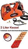 B-WARE Tragbarer Druckluft Kompressor SUPER Boxy RL 8 Bar 2 Liter Kessel