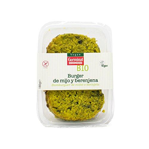 Germinal, Hamburguesa vegetal (Berenjena y mijo)